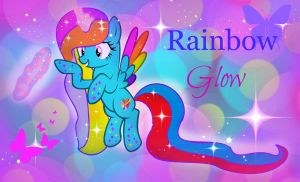 I randomly made this just saying i am not alicorn by RainbowGlow55555