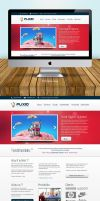 Flixio Home Page Design by vennerconcept