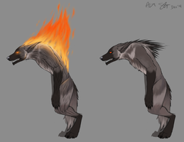 Werewolf Concept by xXNuclearXx
