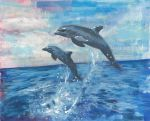 Dolphins by GregoryStephenson