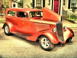 A 1934 Ford by 100kt-tape