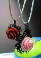 Roses by motemanikabeads