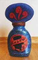 Bioshock Infinite Salt Bottle by ChrixDesign