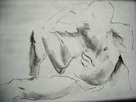 Life Drawing Session 01-B by Young-Wolf