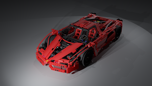 Lego 8653 Ferrari Enzo by Ineray