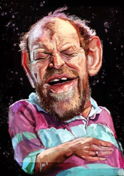 Joe Cocker caricature by jupa1128