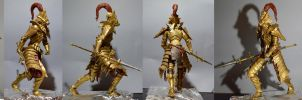 Dragon Slayer Ornstein Weathered by MichaelEastwood