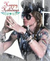 Axl Thinks Happy Holidays by MKMoon-Mew-GNRFan