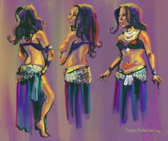 Belly Dance color 2 by Dinolad