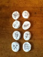 Witch's Runes by AbsyntheMyndedArt