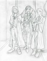 GoF: The Triwizard Champions by Saphari