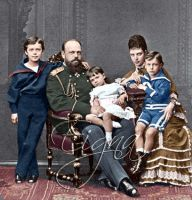 Alexander III and family by BooBooGBs