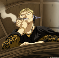 Laxus_colored_commission by Enara123