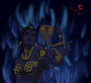 Goddess Kali by LaraNico