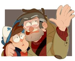 Dipper and ford 100 years by xCandyliciousx