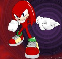 Knuckles The Echidna by Xpand-Your-Mind