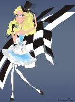 Alice in Wonderland by Louise-Rosa