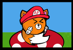 Angry Fox Mario Style by Kefka750