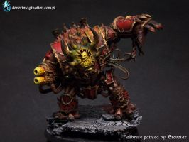 Hellbrute of Khorne by Brovatar