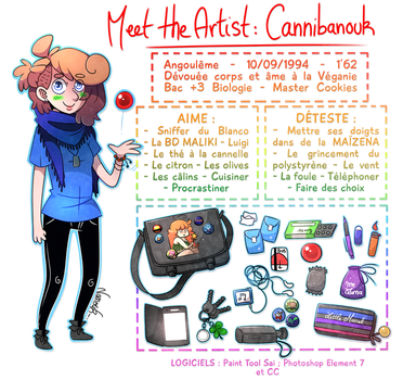 Meet the artist by Cannibanouk