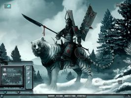 White Tiger Clansman by scubabliss