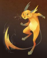 Raichu by grouchywolfpup