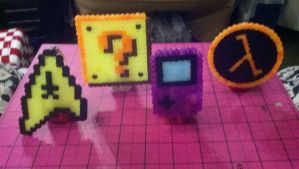 Perler Bead Nightlights by paintmeaperfectworld