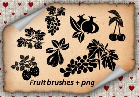Fruit brushes by roula33