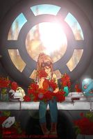ring around the roses by CanvasConstellations