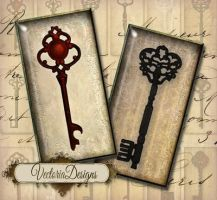 Keys domino tile images by VectoriaDesigns