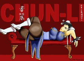 Chun Li On Couch by SayIanIanIan