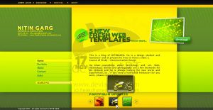 Blog Layout by freakyframes by webgraphix