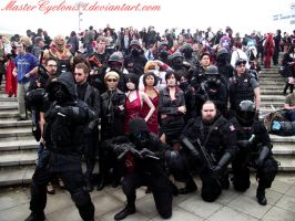 London MCM: Umbrella Corporation group photoshoot by MasterCyclonis1