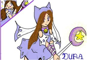 OC Dura - coloured by colorfulldrawer