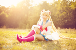 New: Super Sailor Moon IV by Cosbabe