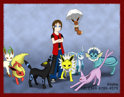 My Eeveelutions by Akuvix