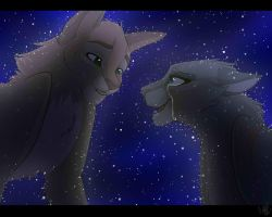 Welcome to Starclan, Bluestar. by PureSpiritFlower