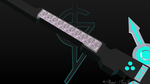 Electronic Sword - Spark Saw. View 2  by Plateal