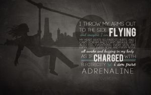 Free Divergent Wallpaper: Adrenaline by CherokeeLove