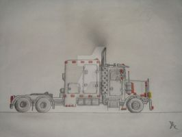 Truck Drawing No.1 by neon280