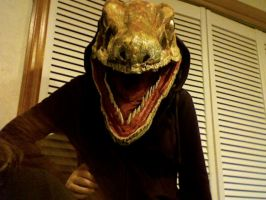 Raptor Jesus front view by MomIsMean