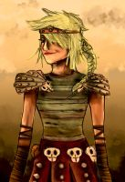 HTTYD: Astrid by IgnitingLights