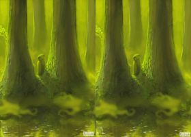 Forest: Stereoscopic 3D by PLyczkowski