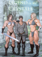Legend of the Crystals - Cover 2 by MagnusMagneto