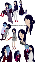 My Idea of Marceline's Mom by ConstellationChild
