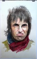 Liam Gallagher (OASIS) by 64Art