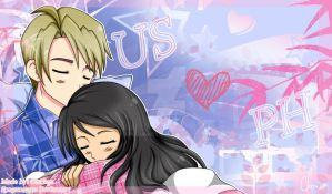 Hetalia : USxPH Desktop Background by spogunasya