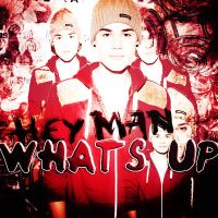 +hey man whats up by proudlybelieber