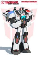 TF RiD Commissioner Prowl by DarioCld