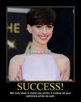 Success Motivational Poster by QuantumInnovator